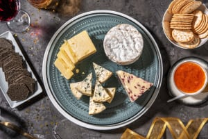 Christmas Cheese Platter image
