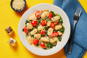 Gnocchi with Spinach & Grape Tomatoes image