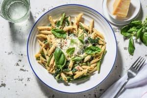 Volkoren penne met broccolini en spinazie image