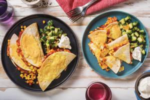 Pulled Pork & Veggie Quesadillas image