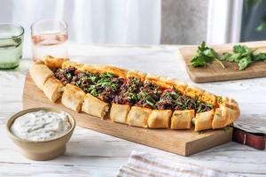Pide! Türkisches Brot mit Hack image