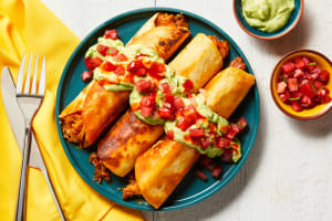 Fully Loaded Pork Taquitos image