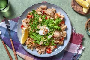 Pilaw! Hähnchen-Reispfanne mit Rosinen image