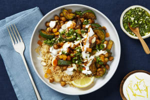 Apricot, Almond & Chickpea Tagine image