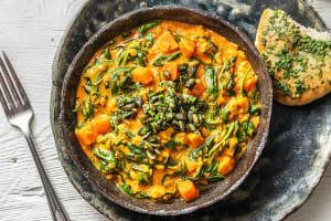 Indiase dahl met zoete aardappel image
