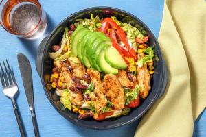 Mexikanischer Hähnchensalat mit Avocado image