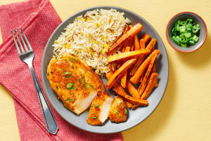 Turkish-Spiced Chicken in Apricot Sauce image