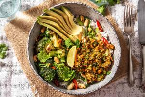 Vegetarische Bowl nach Thai Art image
