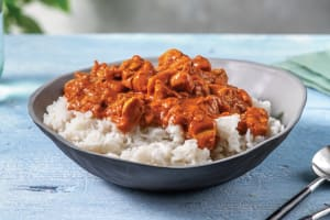 Butter Chicken with Basmati Rice image
