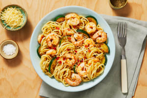 Shrimp Spaghetti with a Kick image