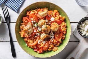Tomatenrijst met kipgehaktballetjes image