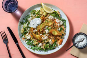 Orangen-Tabbouleh mit Pfannen-Avocado image
