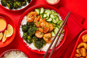 Sweet Heat Shrimp Tempura Bowls image