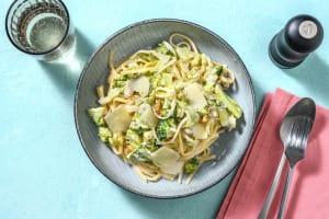 Romige spaghetti met broccoli en walnoot image