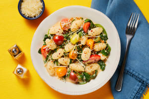 Gnocchi with Spinach & Tomatoes image