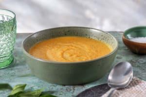 Kürbis-Kokosnuss-Suppe image