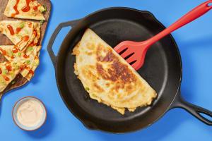 Easy Bein' Cheesy Chicken Quesadillas image