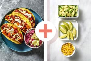 Knapperige taco's met kipgehakt image