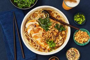 Chicken Ramen in a Shoyu-Style Broth image