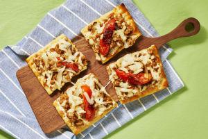 Chicken Sausage & Garlic Flatbreads image