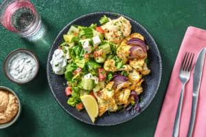 Röst-Blumenkohl mit Butterbohnen-Hummus image