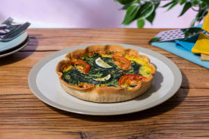 Quiche mozzarella-épinards image