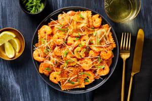 Lobster Stuffed Ravioli & Shrimp image