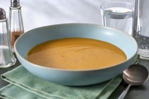 Leichte Karotten-Kokos-Suppe mit Ingwer image