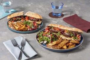 Burger végétarien à l'italienne image