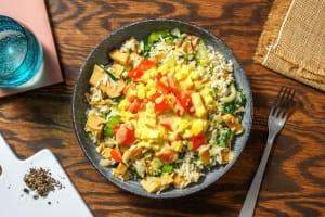 Vegetarische kipcurry met rijst image