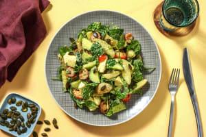 Warmer Kartoffelsalat mit Mozzarella image