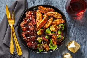 Cherry Balsamic Bavette Steak image
