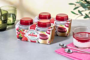 Panna Cotta aux fruits rouges image