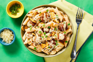 Penne with Pork Meatballs image