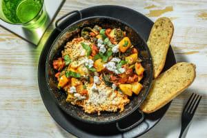Shakshuka met aardappel en Italiaanse kruiden image