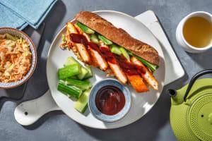 Sandwich d'escalope de porc croustillante à la japonaise image