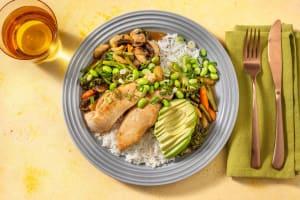 Asiatische Hähnchenbrust mit Edamame image
