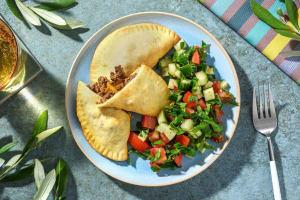 Zelfgemaakte mini-empanada's met rundergehakt image
