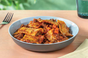 Beef Ravioli with Bolognese Sauce image
