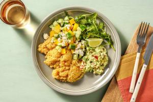 Guacamole-Bowl mit Quinoa & Mango-Gurken-Salat image