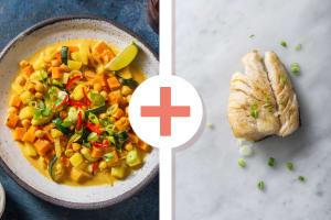 Massaman-Curry mit extra Kabeljaufilet image