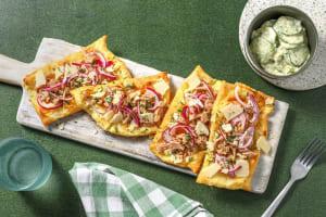 Tartelettes Tonno! mit Gurken-Dill-Salat image