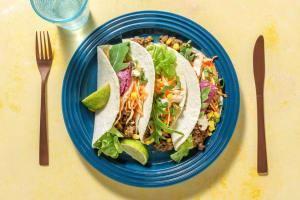 Tortilla's met gehakt in Aziatische gember-limoenmarinade image