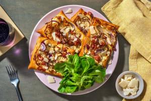 Tartelettes mit Kräuterseitlingen und Bacon image
