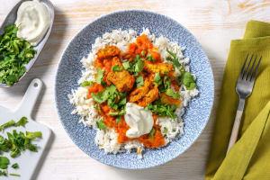 Vegetarische kip tikka masala image