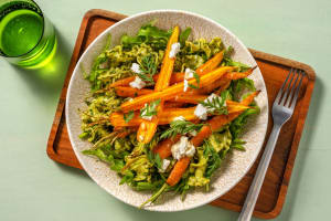 Gigli met pesto van wortelloof image