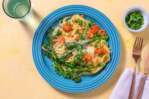 Spaghetti frais aglio e olio image