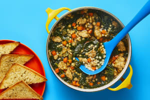 One-Pot Chicken Sausage & Kale Soup image