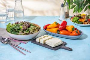 Salade met halloumaki image