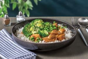 Satay Chicken with Jasmine Rice image